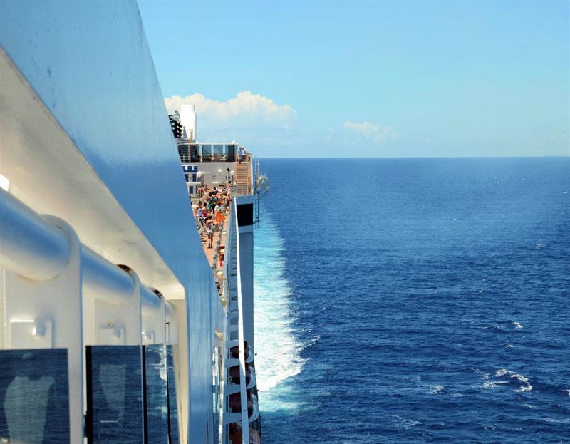 msc hajóút